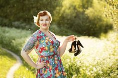 SaraLee, Photo by Maria Kimalle #pinup #summer