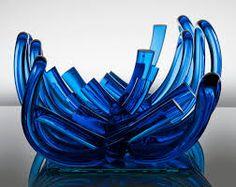 Výsledek obrázku pro bořek šípek sklo Cast Glass, Glass Molds, Pressed Glass, Carnival Glass, Decorative Bowls, Glass Art, Cobalt Blue, Bohemian, Design