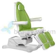Elektryczny fotel kosmetyczny Mazaro BR-6672C Ziel