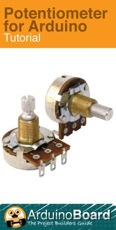 Potentiometer for Arduino :: Learn what an analog signal is, and find out how to read it using Arduino's built in 'analogRead()' function. CLICK HERE for Tutorial http://arduino-board.com/tutorials/potentiometer (Scheduled via TrafficWonker.com)