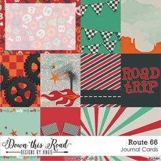 Route 66 Journal Cards - Snap Click Supply Co.