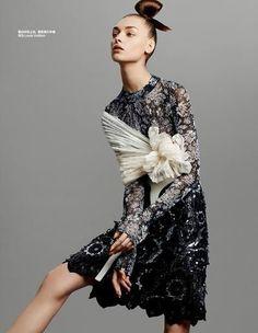 Harper's Bazaar China January 2015