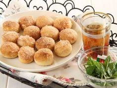 mini sufganiot - baked! Recipe in Hebrew - can someone translate?