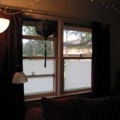wax paper privacy window treatments