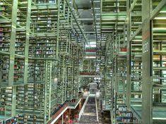 La bibliothèque José Vasconcelos à Mexico, Mexique © Creative commons