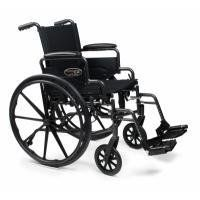 W/C TRAV L4 20X16 FULL D-FTR E&J by Everest & Jennings. $219.45. Everest & Jennings introduces the latest in a long tradition of quality wheelchairs. The Traveler L4 is the newest high-strength lightweight wheelchair addition to the Traveler line, a brand respected for performance and durability.The Traveler L4 is a high-strength lightweight K0004 Medicare coded wheelchair. The Traveler L4 has dual axles and multi-position caster forks for an adjustable seat height o...