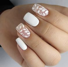 Gel Nail Art Designs, White Nail Designs, Nails Design, Cute Nails, Pretty Nails, White Glitter Nails, Bride Nails, Diamond Nails, Luxury Nails