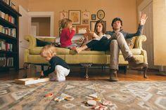 little family. <3 sweet living room!