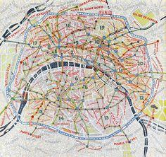 Paris e seus bairros