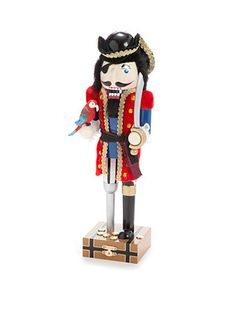 Home Accents� Holiday Traditions 14-in. Pirate Nutcracker
