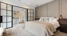 contemporary neutral bedroom palette #luxury | Kensington #Landmass