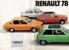 Renault 12 Türkiye - Renault 12 Tanıtım Broşürü (Hollanda-1978)