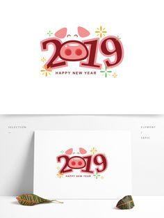 year font,typography,creative font,animal,new year 2019 Typography Fonts, Lettering, Happy New Year Banner, Powerpoint Design Templates, Image T, Year Of The Pig, Red Envelope, Creative Fonts, Chinese New Year