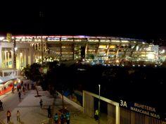 Entorno do Maracanã, na final da Copa do Mundo 2014...