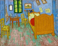 The Bedroom (1889) by Vincent Van Gogh. Original from the Art Institute of Chicago. Digitally enhanced by rawpixel. | free image by rawpixel.com / The Art Institute of Chicago (Source)