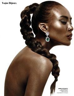 Vogue Thailand April 2015 | Si Tanwiboon by Tada Varich [Bijoux]