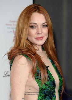88 Best Hair Images In 2014 Celebrities Lindsay Lohan
