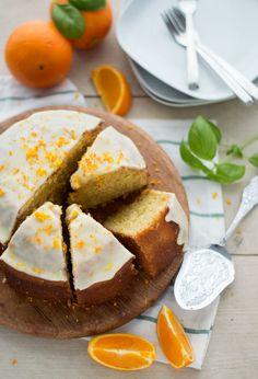 Sinaasappelcake Pear Recipes, Orange Recipes, Sweet Recipes, Cake Recipes, Dessert Recipes, Desserts, Cake & Co, Bread Cake, Let Them Eat Cake