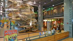 This #museum offers interactive exhibits that encourages children learn through the power of play. | Boston Children's Museum- Boston, MA