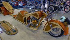 Woody Motorcycle - this thing is amazing.
