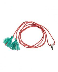 I propose - Tassels as THE way to go with wrist and neck accessories this summer :)