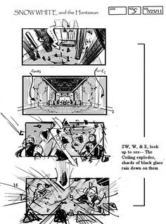 15 Movie Storyboards: See the Early Conceptions of Your Favorite Movie Scenes Famous Movie Scenes, Famous Movies, Drawing Tips, Drawing Reference, Drawing Ideas, Snow White Art, Snowwhite And The Huntsman, Color Script, Storyboard Artist