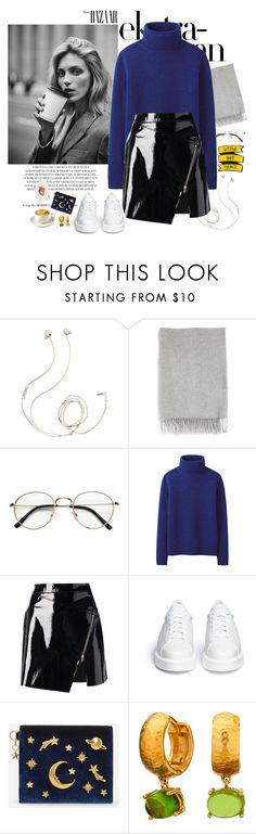 """Capsule Wardrobe I"" by martaveira ❤ liked on Polyvore featuring Molami, Acne Studios, Anja, Uniqlo, Markus Lupfer, Robert Clergerie and CHARLES & KEITH"
