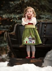 Persnickety Ginger Holiday Dress *Preorder*