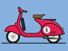 Rebound of Nick Slaters Xs650 Cafe Racer but i'm more of a Vespa man so here is my dream ride. Enjoy!
