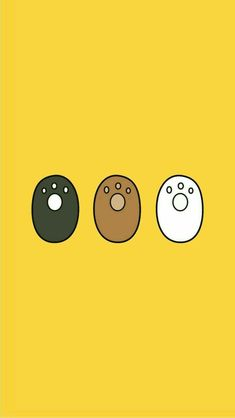 no need tera mhuu ban ja tha ha jo tu emoji sa express kar thi ha We Bare Bears Wallpapers, Panda Wallpapers, Cute Cartoon Wallpapers, Ice Bear We Bare Bears, We Bear, Bear Wallpaper, Kawaii Wallpaper, Cute Wallpaper Backgrounds, Wallpaper Iphone Cute