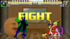 Annoying Orange & Multiple Man VS Hong Kong Phooey & Twilight Sparkle In A MUGEN Match / Battle This video showcases Gameplay of Twilight Sparkle From The My Little Pony Friendship Is Magic Series And Hong Kong Phooey The Superhero VS Multiple Man And The Annoying Orange In A MUGEN Match / Battle / Fight