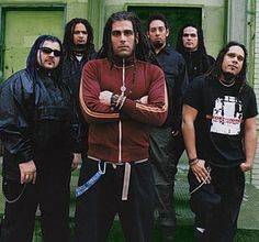 Ill Niño in Confession days Nu Metal, Limp Bizkit, Synthetic Dreadlocks, System Of A Down, Heavy Metal Bands, Music Love, Confessions, Rock N Roll, Mens Fashion