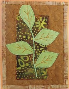 quilted greeting card