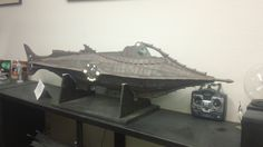 66 inch radio controlled diving Nautilus in my office.
