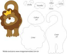 Felt Animal Patterns, Stuffed Animal Patterns, Bear Felt, Felt Books, Applique Templates, Felt Animals, Paper Piecing, Felt Crafts, Holidays And Events