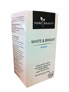 2 packs of Pure Beauty White  Bright Serum Improves skin clarity diminishes appearance of pigmentation evens out skin tone 30 ml pack *** Click image for more details.