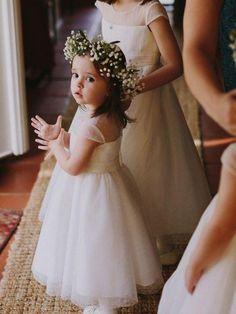 999372d034f3 Cheap Toddler Flower Girl Dresses Ivory Rustic Baby Flower Girl Dress  ARD1286