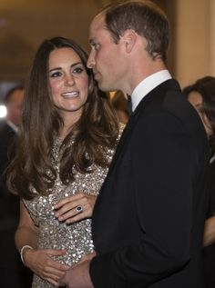 """Pin for Later: 48 Times You Could Almost Relate to Will and Kate The """"No, No, That's Not How the Story Goes"""" Kate had to weigh in on a conversation with William at the September 2013 Tusk Trust gala in London."""