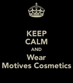 Motives Cosmetics - love this brand. I admit I wish I had more of there brand than I do.