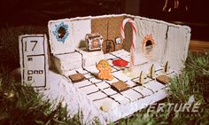 Aperture Science Gingerbread Test Chamber by syntheticph.deviantart.com