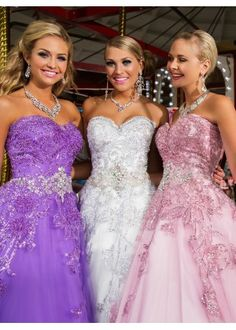 18-1 Cool Collection by Tony Bowls is a GORGEOUS sweetheart, strapless prom gown with beaded appliques all over the bodice and fun beaded detailing at the natural waist.
