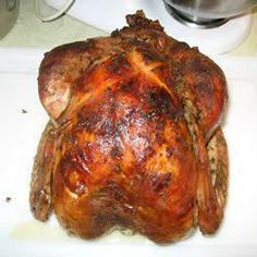 Pavo al horno fácil @ allrecipes.com.mx