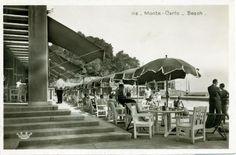 Monte-Carlo Beach http://www.gayfrenchriviera.com http://www.experiencethefrenchriviera.com #VintageChic