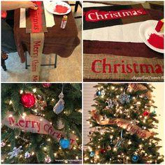 Easy Christmas diy