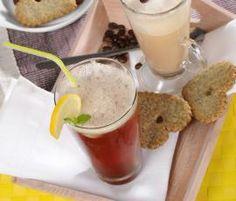 Recept Ledový čaj od Vorwerk vývoj receptů - Recept z kategorie Nápoje Kitchen Machine, Frappe, Pudding, Desserts, Food, Thermomix, Tailgate Desserts, Deserts, Custard Pudding