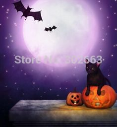LIFE MAGIC BOX Latest Photography Background Halloween Night Background Backdrop  For Studio Xinrui-88901 #Affiliate