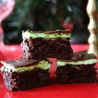Chocolate Mint Dessert Brownies Recipe