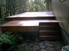 cedar hot tub deck designs - Google Search