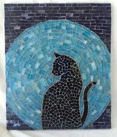 .Mosaic Art & Craft Supplies available online http://www.mosaictiles.com.au #mosaiccats #mosaiccraft #mosaicart