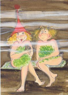 Dressed Up for Sauna? | von FloridaGirl46
